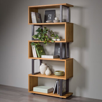 Bentley Designs Tivoli Open Display Bookcase