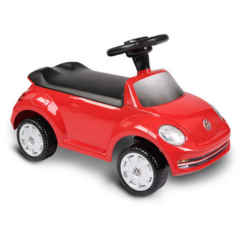 Rollplay VW Beetle Children's Foot-To-Floor Ride On - Red (12+ Months)