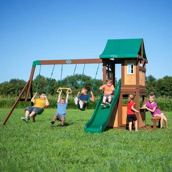 Backyard Discovery Lakewood Swing Set Playcentre (2-10 Years)