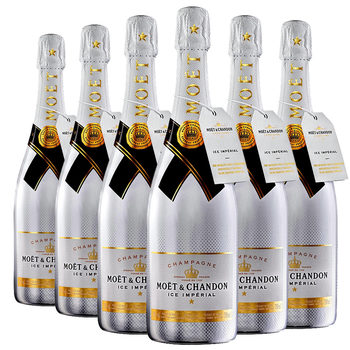 Moët & Chandon Ice Imperial NV Champagne, 6 x 75cl