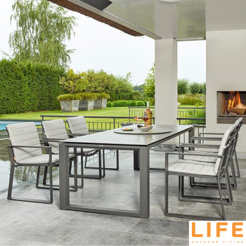 LIFE Outdoor Living Kiama 7 Piece Dining Set