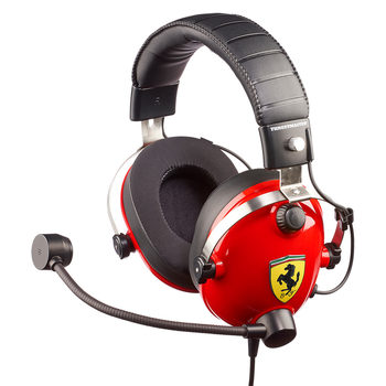 Thrustmaster T Racing Scuderia Ferrari Edition, Gaming Headset