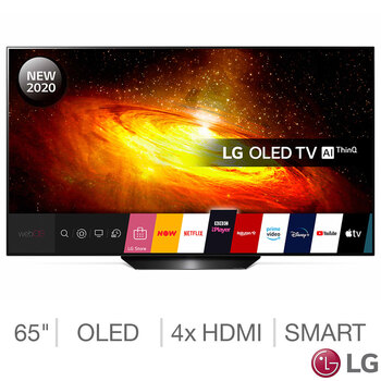 LG OLED65BX6LB 65 Inch OLED 4K Ultra HD Smart TV