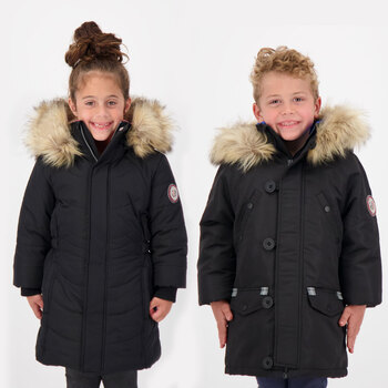 Andy & Evan Children's Water Resistant Parka in 2 Colours and 5 Sizes