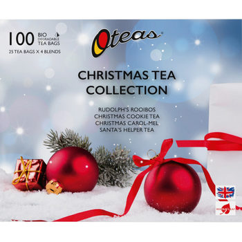 Oteas Christmas Tea Selection Pack, 100 Teabags