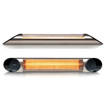 Veito Blade S2500 Indoor And Outdoor Carbon Infrared Heater - Silver