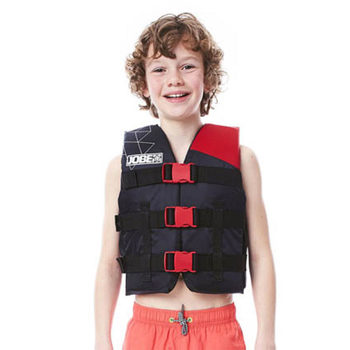 Jobe Nylon Youth Vest in Red (30-40kg)