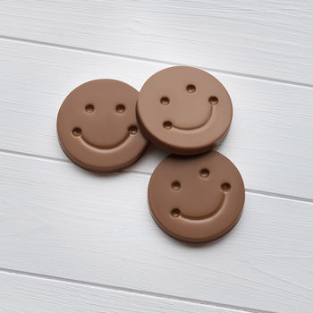 Cocoba Milk Chocolate Smiley Faces