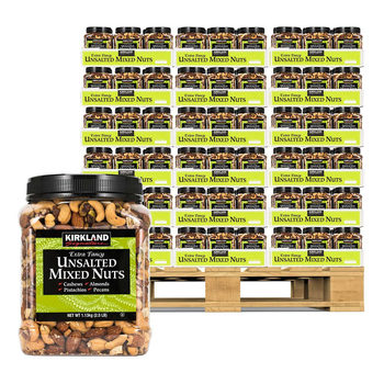 Kirkland Signature Extra Fancy Unsalted Mixed Nuts Pallet Deal
