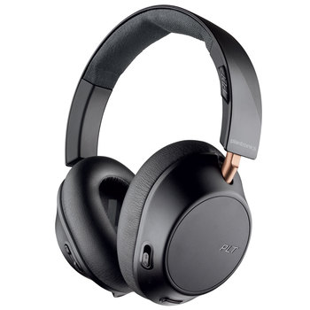 Plantronics BackBeat Go 810 Wireless Active Noise Cancelling Over Ear Headphones in Black