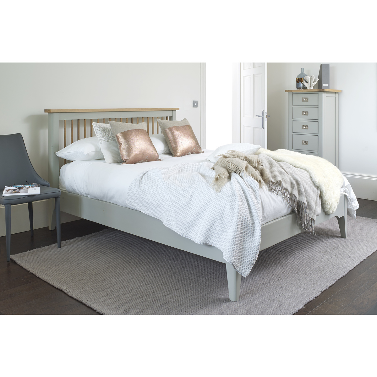Bordeaux Painted Bed Frame In 3 Sizes Costco Uk