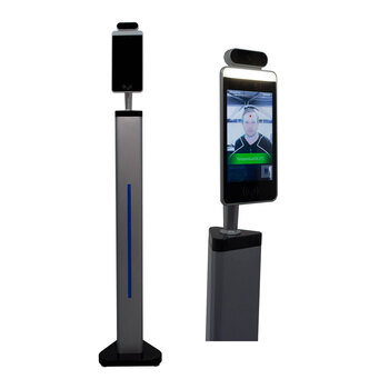 Esprit Digital Instant Body Temperature Scanner with Podium