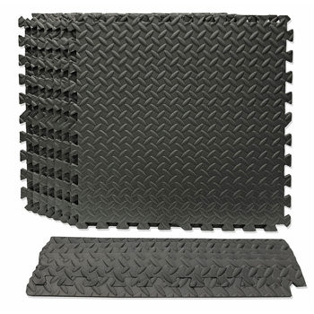 Best Step Microban Interlocking Comfort Flooring - (61 x 61 x 1.2 cm) - 8 Pack