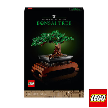 LEGO Creator Expert Bonsai Tree - Model 10281 (18+ Years)