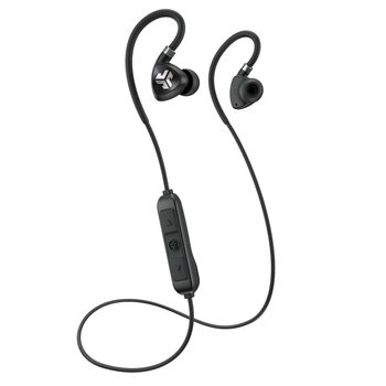 JLAB Fit 2.0 Sport Wireless Bluetooth In Ear Headphones in Black
