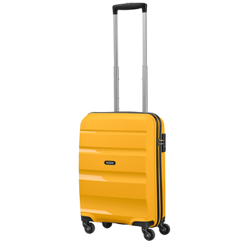 American Tourister Bon Air Carry On Spinner Case, in Yellow