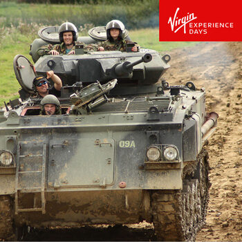 Virgin Experience Days Tank Paintball Battle for Two People (17 Years +)