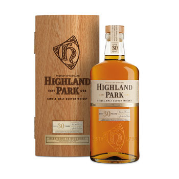 Highland Park 30 Year Old Single Malt Scotch Whisky, 70cl