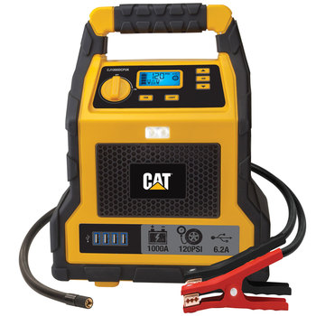 CAT 1000 Peak Amp Professional Jump Starter and Compressor