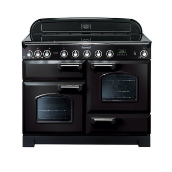 Rangemaster Classic Deluxe 110cm Electric Induction Range Cooker A Rating in 3 Colours