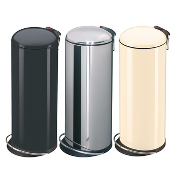 Hailo 24 Litre TOP Design Pedal Bin in Three Colours