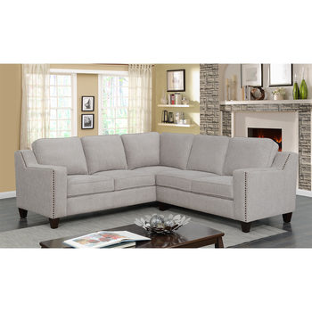 Mstar International Maddox Fabric Sectional Sofa