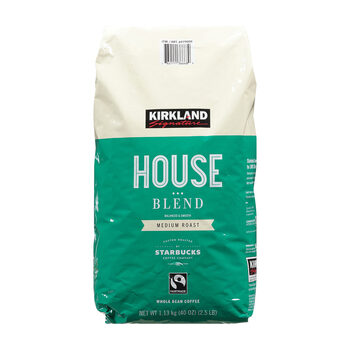 Kirkland Signature Starbucks Houseblend Coffee Beans, 1.13kg