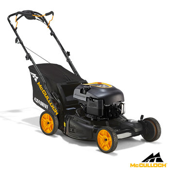 "McCulloch 190cc 22"" (56cm) Self Propelled Petrol Lawn Mower - Model M56-190APX 4x4"