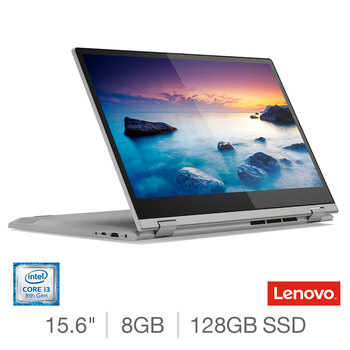 Lenovo Ideapad C340, Intel Core i3, 8GB RAM, 128GB SSD, 15.6 Inch Convertible Laptop, 81N50058UK