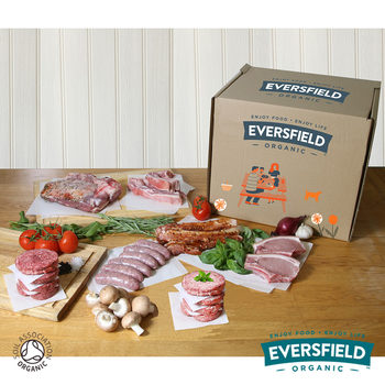 Eversfield Organic Mixed BBQ Meat Box, 4kg