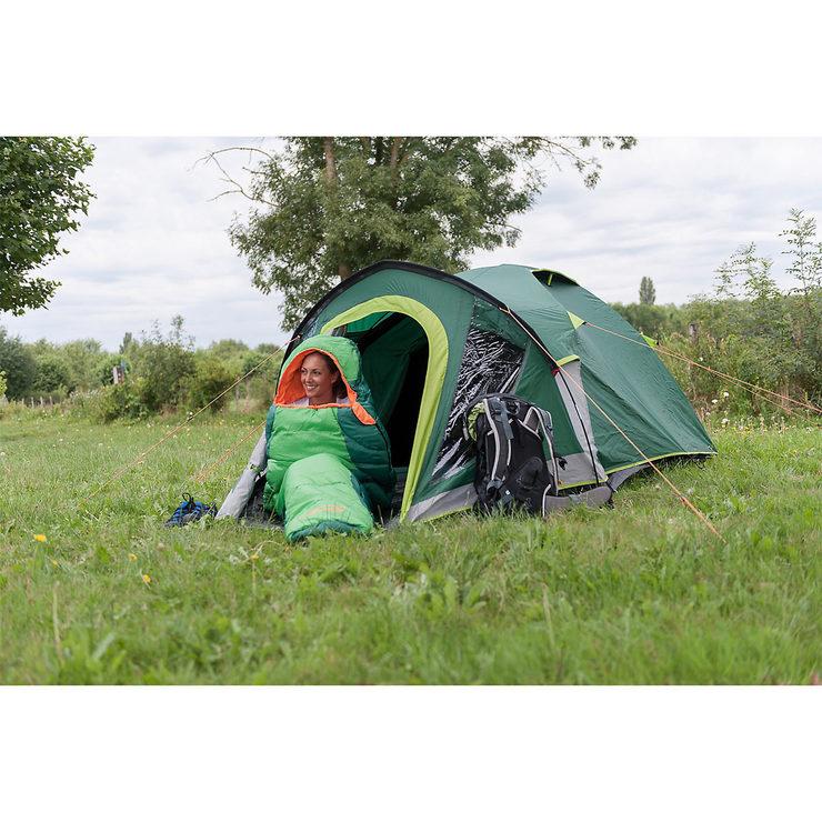buy online b097d c58ab Coleman Kobuk Valley 4 Plus Tent with Blackout Bedroom | Costco UK