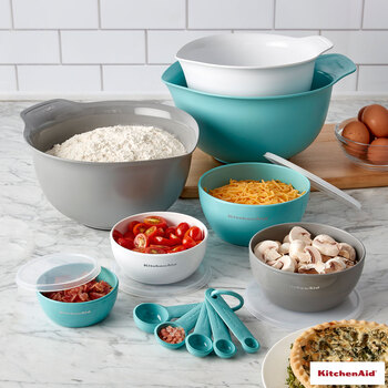 KitchenAid Bake, Mix and Measure 12 Piece Set in 2 Colours