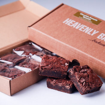 Heavenly Bakes Belgian Chocolate Brownie Beauties, 20 x 70g