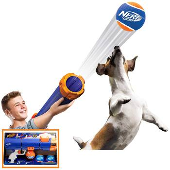 Nerf Dog Tennis Ball Blaster with 3 Balls