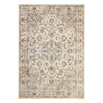 Empire Icy Medallion Bordered Rug in 2 Sizes