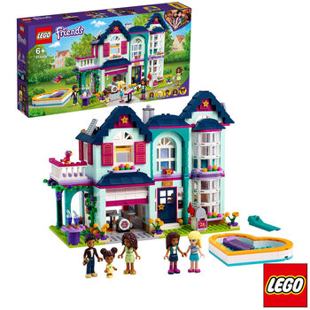 LEGO Friends Andrea's Family House - Model 41449 (6+ Years)