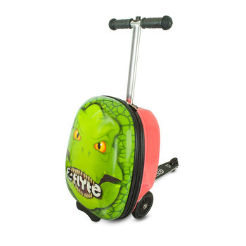 Zinc Flyte Midi Scooter Case, Darwin the Dinosaur (4-8 Years)