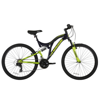 "Barracuda 26"" (66cm) Draco DS Full Suspension Shimano Mountain Bike in Black/Neon Lime"