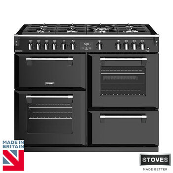 Stoves Richmond S1100G, 110cm Gas Range Cooker A Rating in 3 Colours