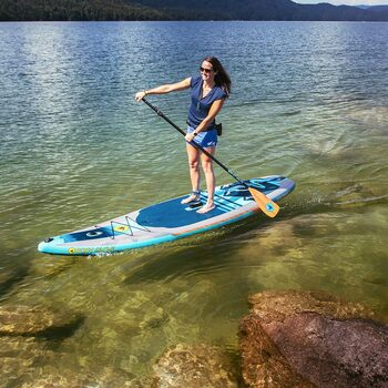 Body Glove Performer 11ft Inflatable Paddle Board with Pump, Backpack and Paddle
