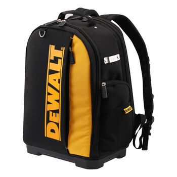 Cut out image of DeWalt backpack on white background
