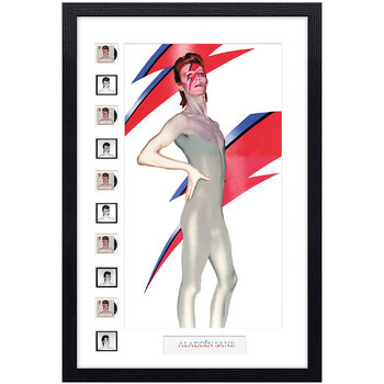 David Bowie Framed Royal Mail® Collectible Stamp - Aladdin Sane Anniversary Frame