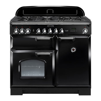 Rangemaster Classic Deluxe 100cm Dual Fuel Range Cooker A Rating  in 3 Colours