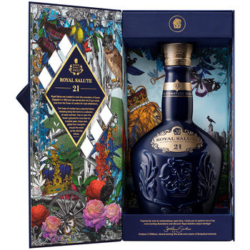Royal Salute 21 Year Old Whisky, 70cl in Sapphire Flagon