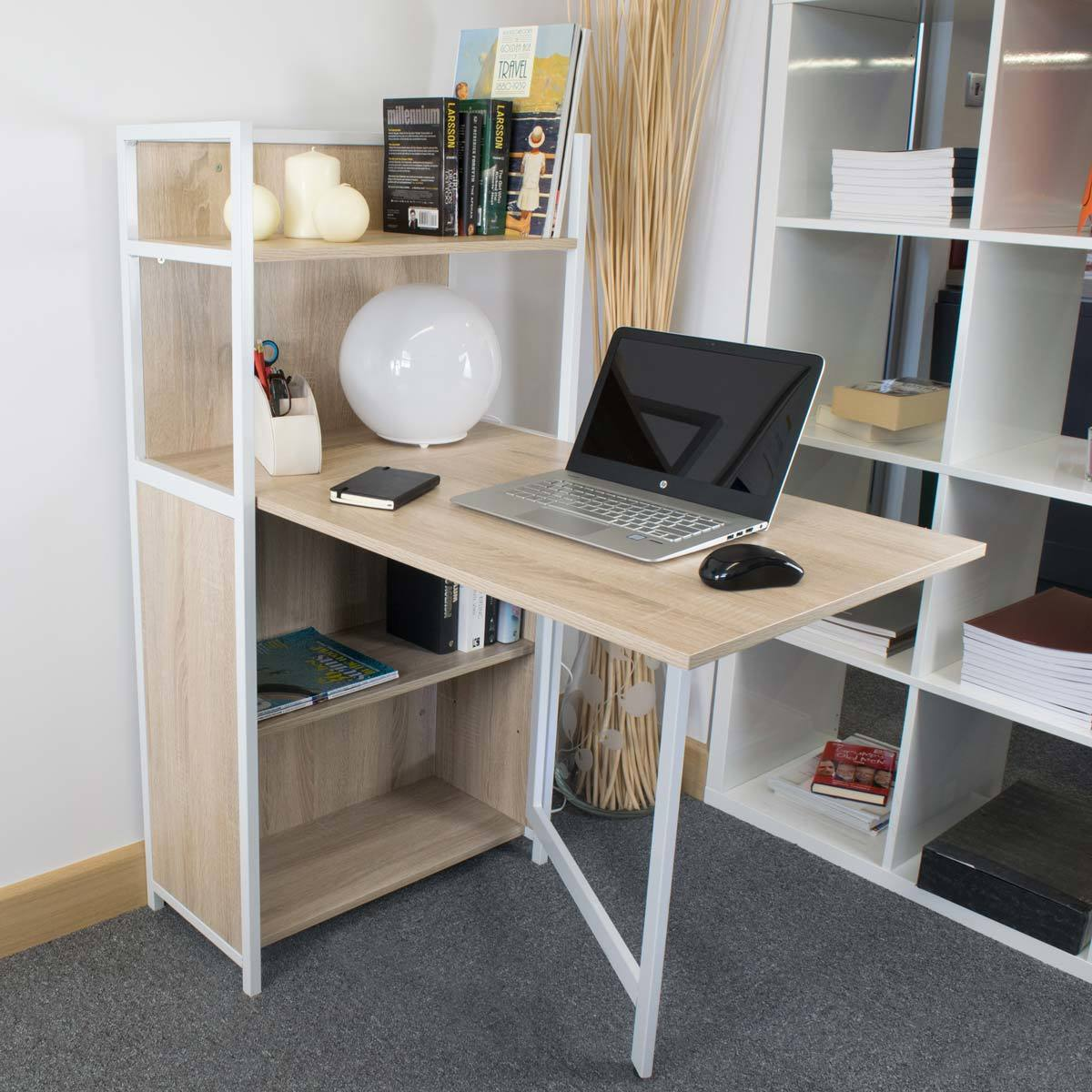 Accord Concept Ced 102 Compact Folding Desk Costco Uk