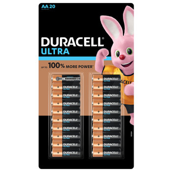 Duracell Ultra Power AA Alkaline Batteries - 20 Pack