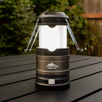 "Cascade 7"" (18.3 cm) LED Collapsible Lantern with 9 Duracell Batteries - Pack of 3"