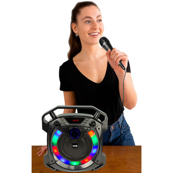 Rockjam Bluetooth Portable Karaoke Party Speaker With Microphone (6+ Years)