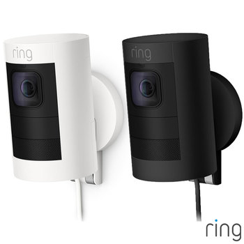 Ring Wired Stick Up Camera in 2 Colours