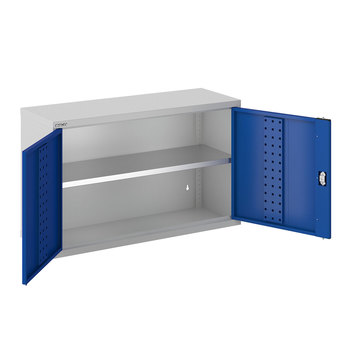 Bisley ToolStor 1 Shelf Workshop Wall Cabinet - (600 x 1000 x 350mm)